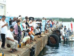 第16回赤尾木湾横断遠泳大会